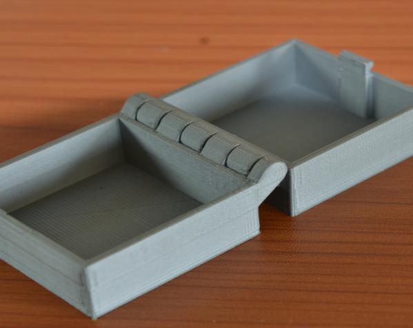 带锁的铰链盒 3D模型  图4