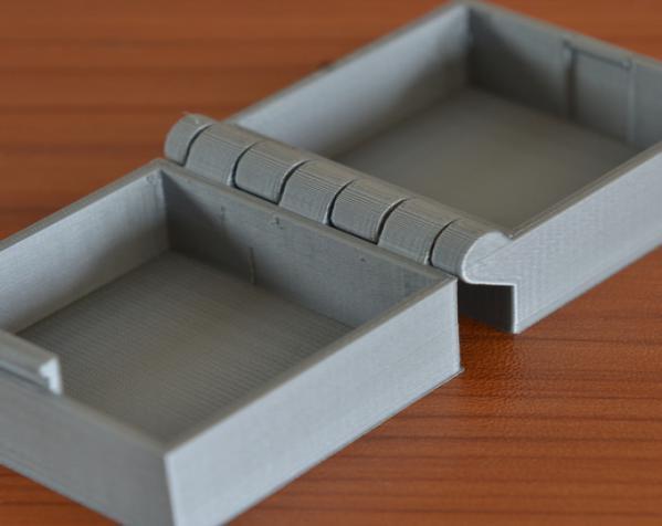 带锁的铰链盒 3D模型  图5