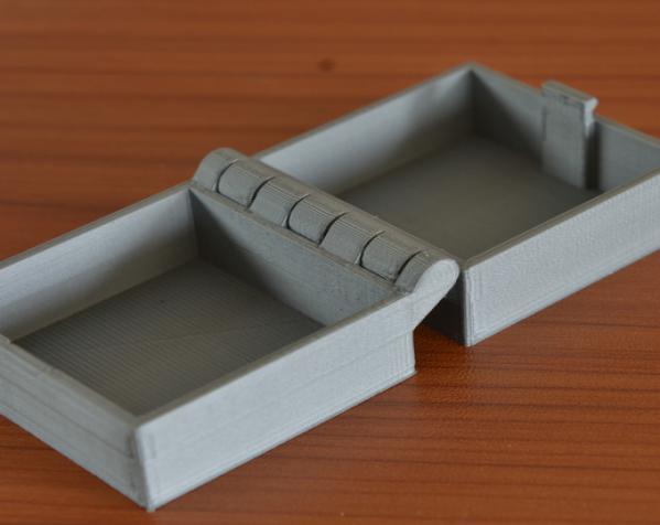 带锁的铰链盒 3D模型  图7