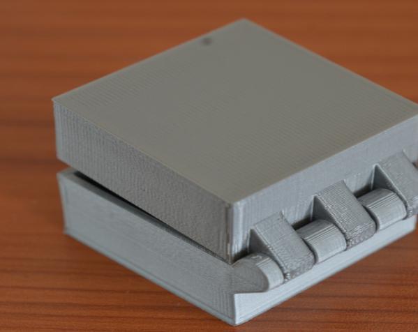 带锁的铰链盒 3D模型  图6