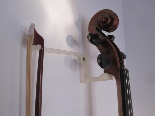 小提琴支架 3D模型  图1