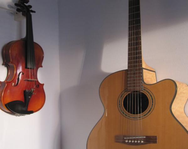 小提琴支架 3D模型  图2
