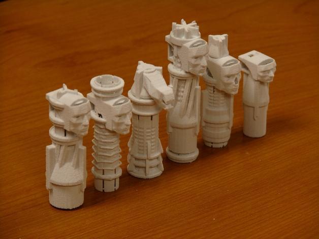 国际象棋 3D模型  图2