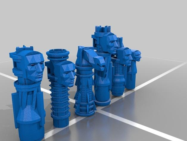 国际象棋 3D模型  图3