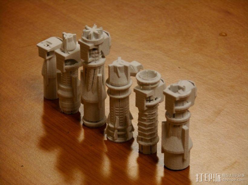 国际象棋 3D模型  图6