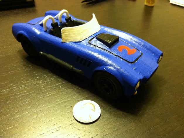 1967年款Shelby Cobra眼镜蛇跑车 3D模型  图5