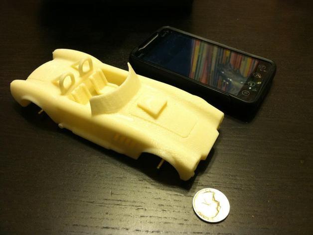 1967年款Shelby Cobra眼镜蛇跑车 3D模型  图4