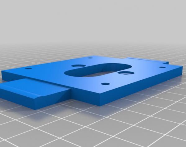 迷你挤出机 3D模型  图3