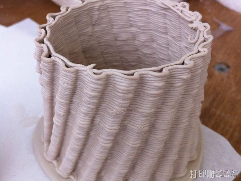 陶瓷3D打印挤出机 3D模型  图5