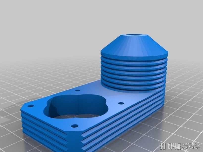 陶瓷3D打印挤出机 3D模型  图28