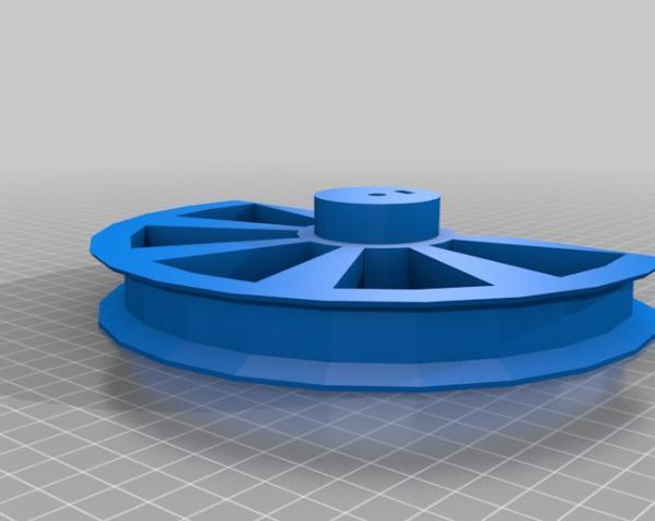 用于全身扫描的重型圆转盘 3D模型  图4