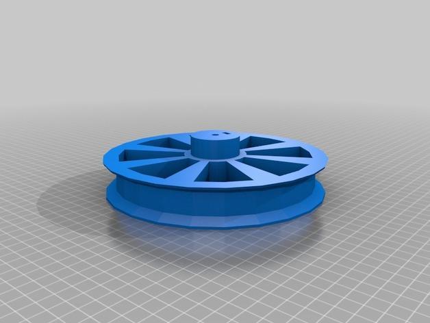 用于全身扫描的重型圆转盘 3D模型  图3