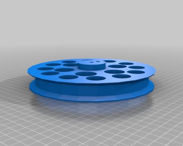 用于全身扫描的重型圆转盘 3D模型  图17