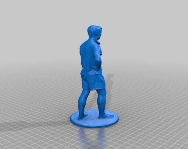 用于全身扫描的重型圆转盘 3D模型  图21