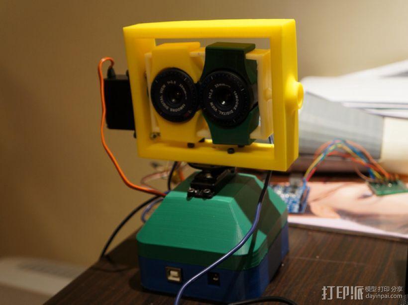 USB摄像机万向节 3D模型  图1