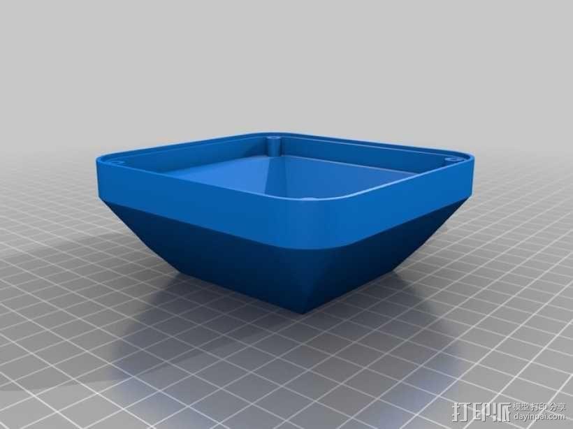 USB摄像机万向节 3D模型  图2
