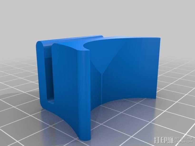 USB摄像机万向节 3D模型  图4