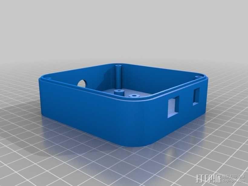 USB摄像机万向节 3D模型  图3