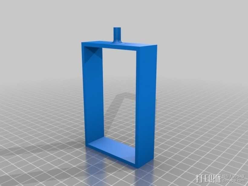USB摄像机万向节 3D模型  图6