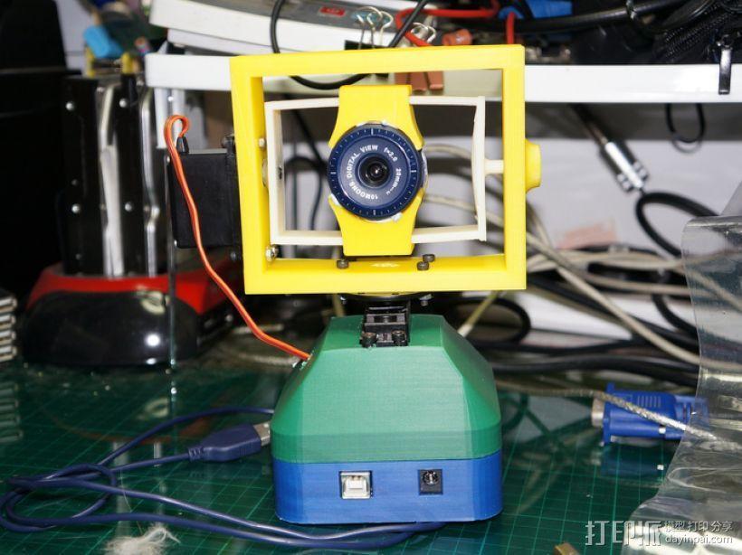 USB摄像机万向节 3D模型  图7