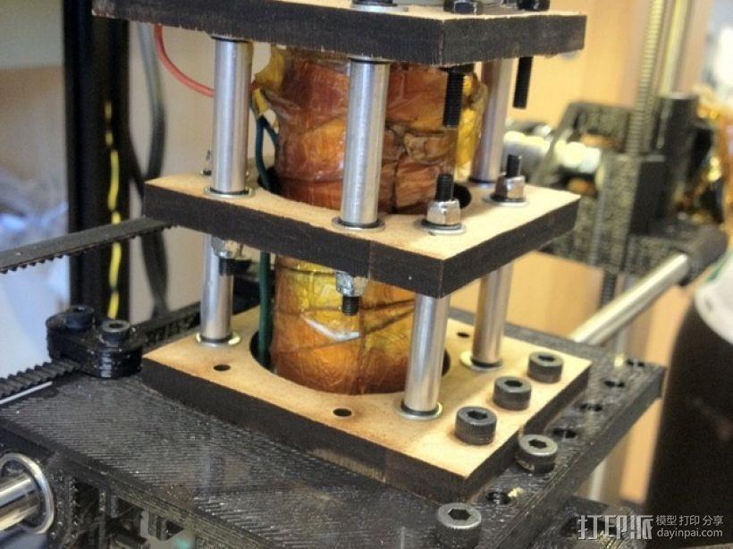 3D打印糖和巧克力的挤压机 3D模型  图2