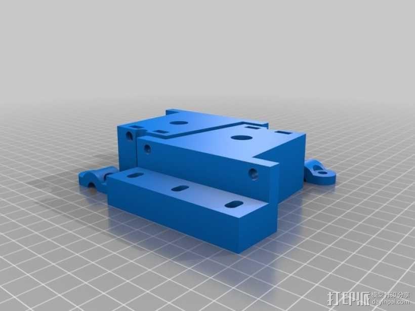 3D打印糖和巧克力的挤压机 3D模型  图3