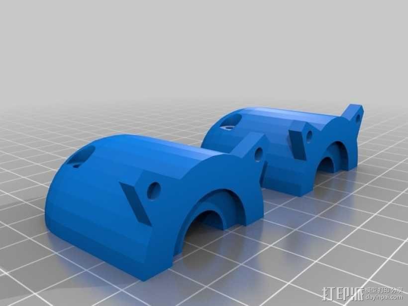 Claystruder 2,旋螺浆挤压机 3D模型  图1