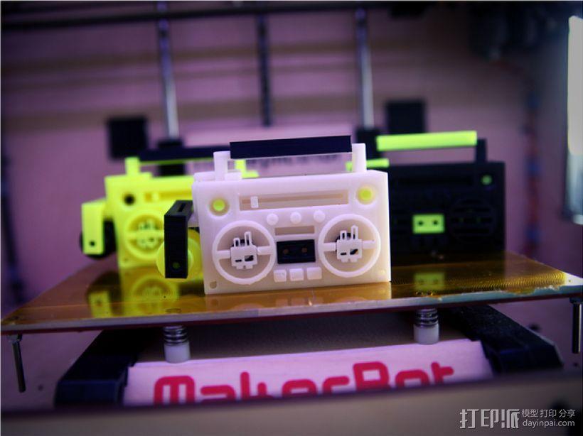 立体音箱 3D模型  图1