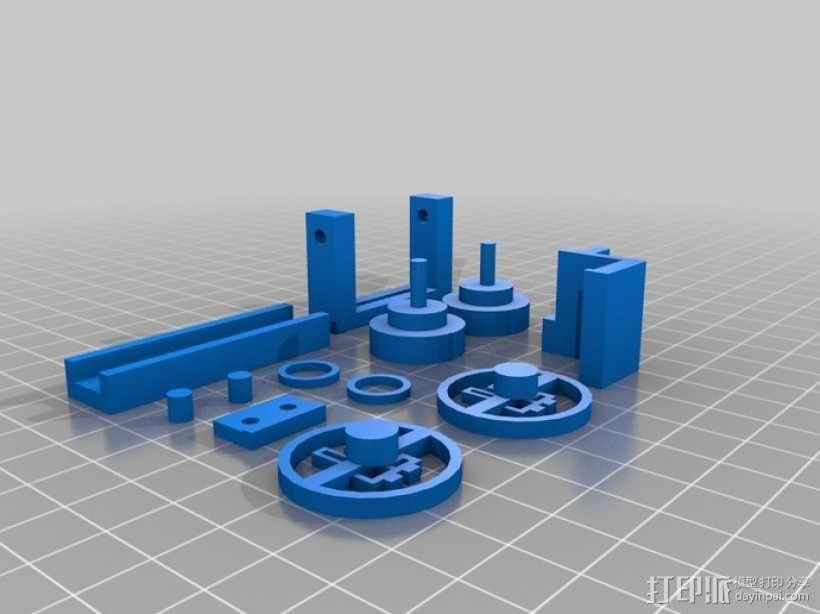立体音箱 3D模型  图3