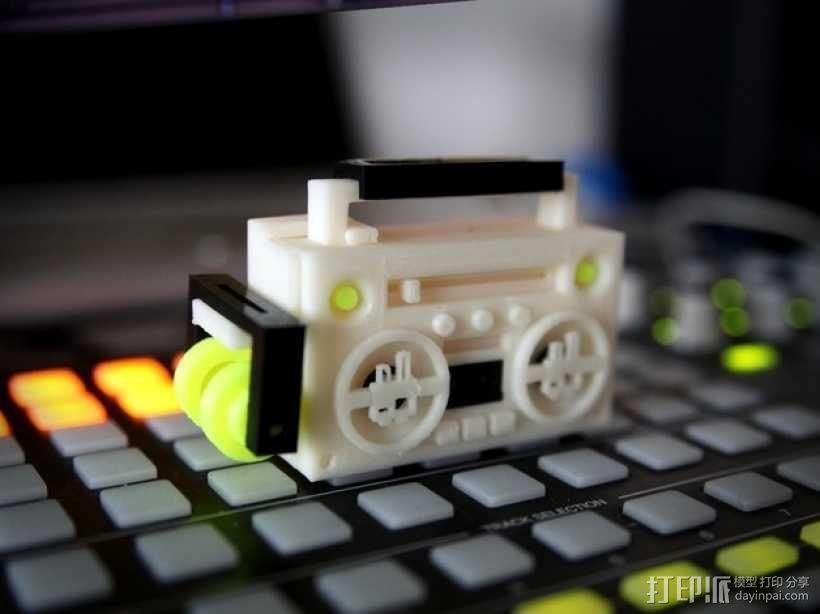 立体音箱 3D模型  图2