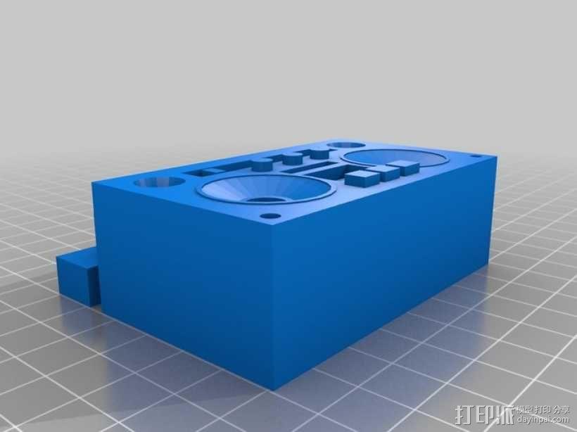 立体音箱 3D模型  图4
