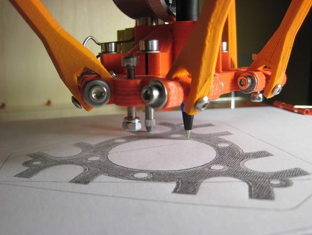 Rostock (3D打印机器人) 3D模型  图2