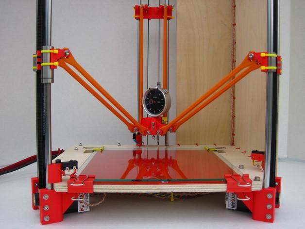 Rostock (3D打印机器人) 3D模型  图3