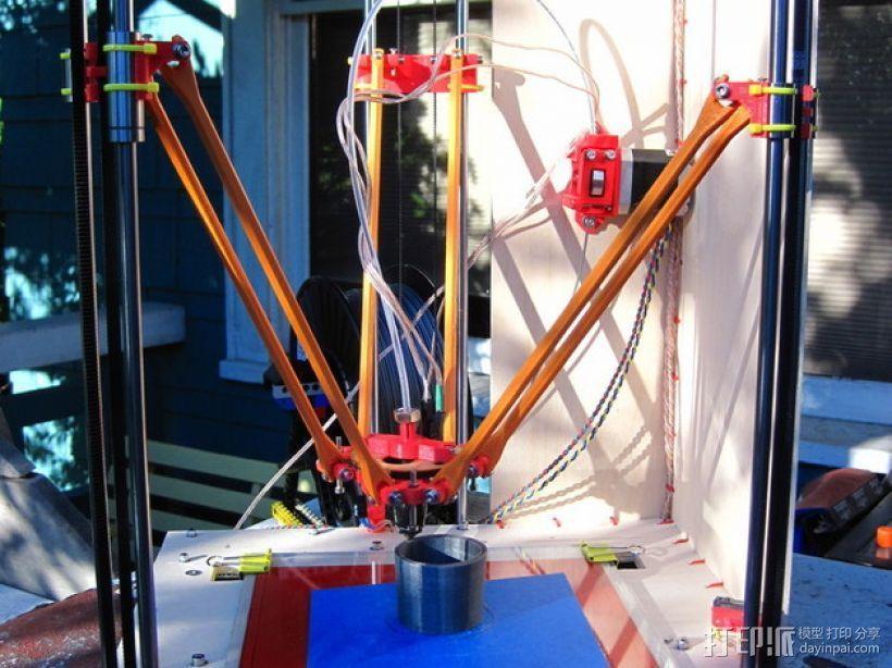 Rostock (3D打印机器人) 3D模型  图6