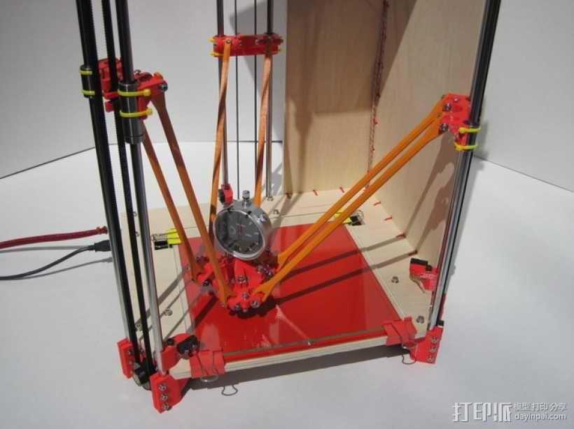 Rostock (3D打印机器人) 3D模型  图5