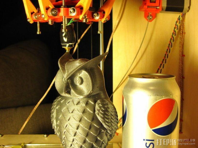 Rostock (3D打印机器人) 3D模型  图10