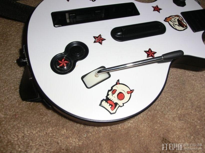 吉他英雄颤音摇杆替换件 3D模型  图1