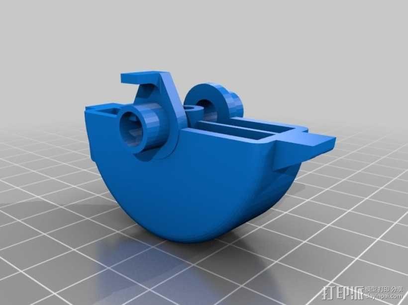 吉他英雄颤音摇杆替换件 3D模型  图5
