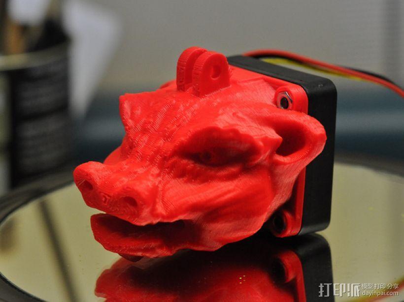 龙头风扇 3D模型  图1
