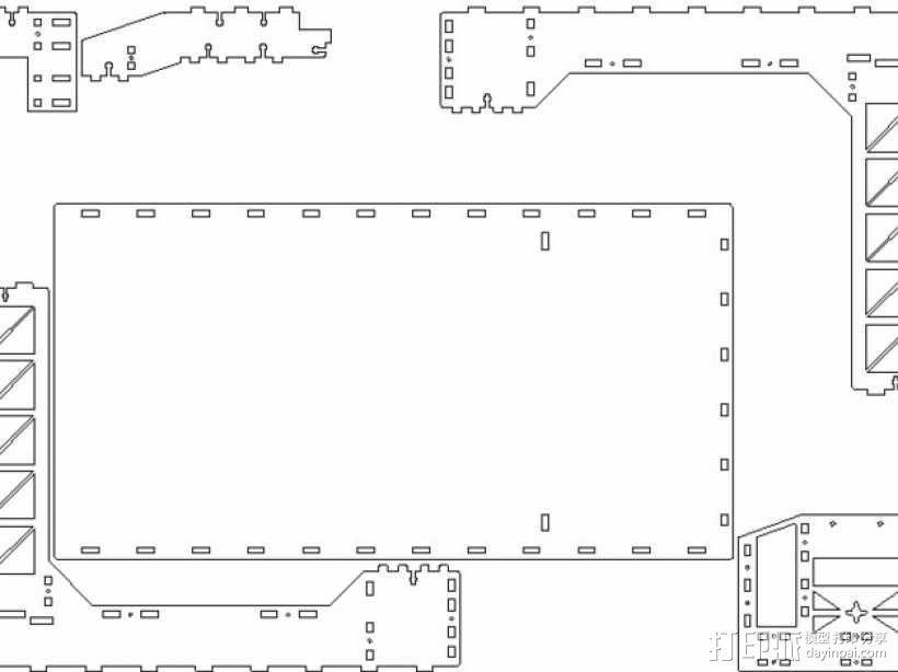Fosterbot 3D打印机 3D模型  图2