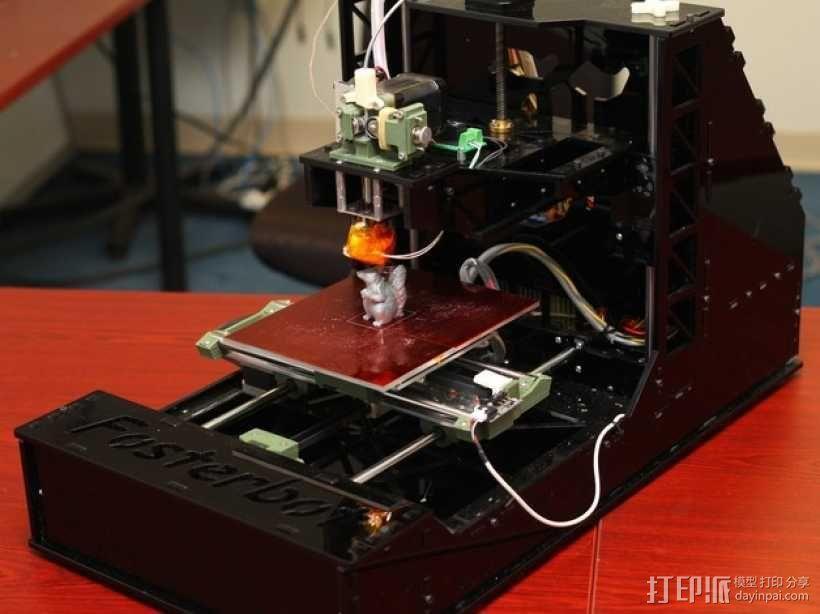 Fosterbot 3D打印机 3D模型  图3