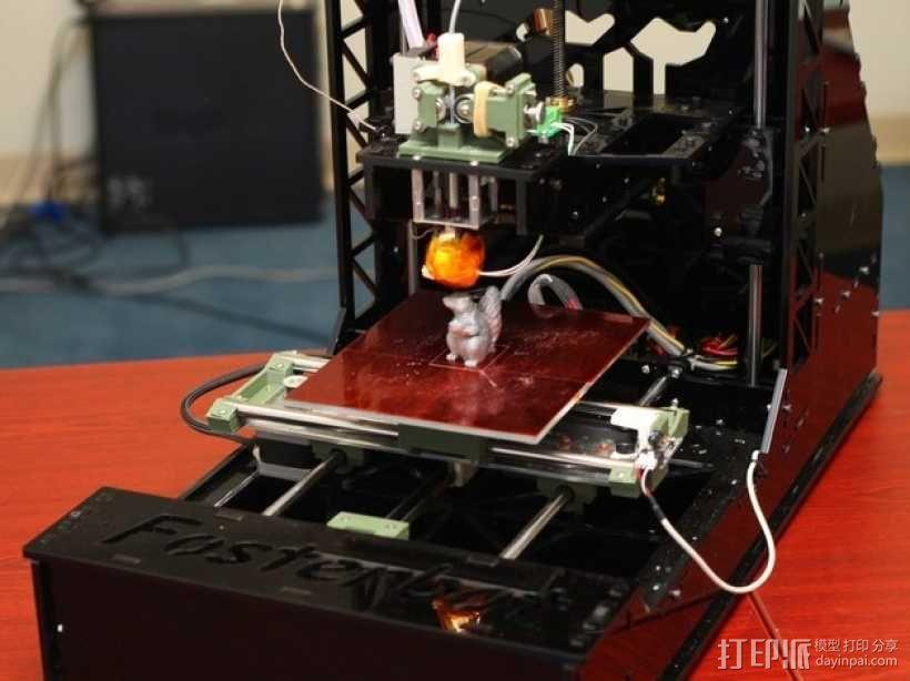 Fosterbot 3D打印机 3D模型  图8