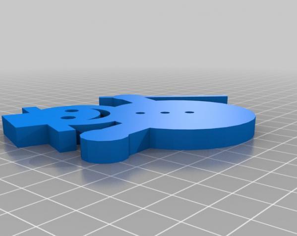 3D打印机通用膏糊挤压机 3D模型  图5