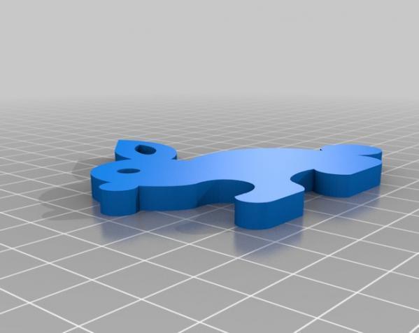 3D打印机通用膏糊挤压机 3D模型  图7