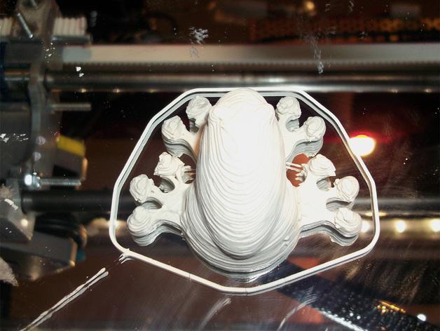 3D打印机通用膏糊挤压机 3D模型  图10