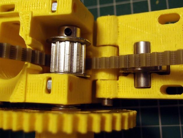 3D打印机通用膏糊挤压机 3D模型  图9