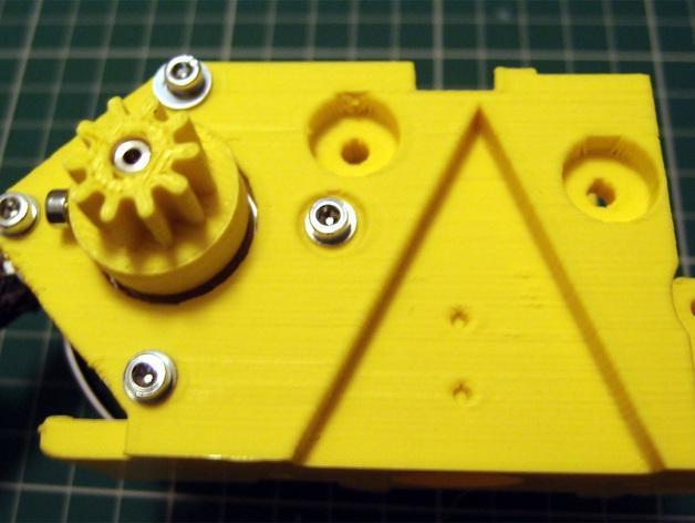 3D打印机通用膏糊挤压机 3D模型  图17