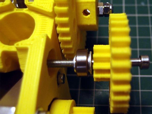 3D打印机通用膏糊挤压机 3D模型  图18
