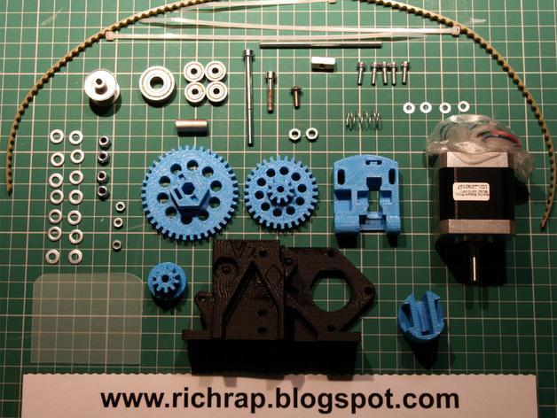 3D打印机通用膏糊挤压机 3D模型  图20