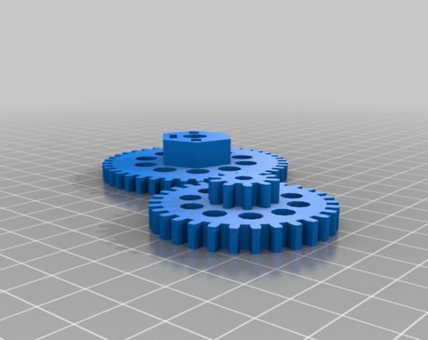 3D打印机通用膏糊挤压机 3D模型  图26